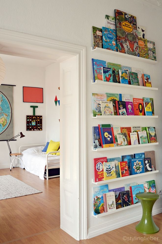 Bücherregal wand ikea  Die besten 25+ Kinderschlafzimmer Ideen nur auf Pinterest ...
