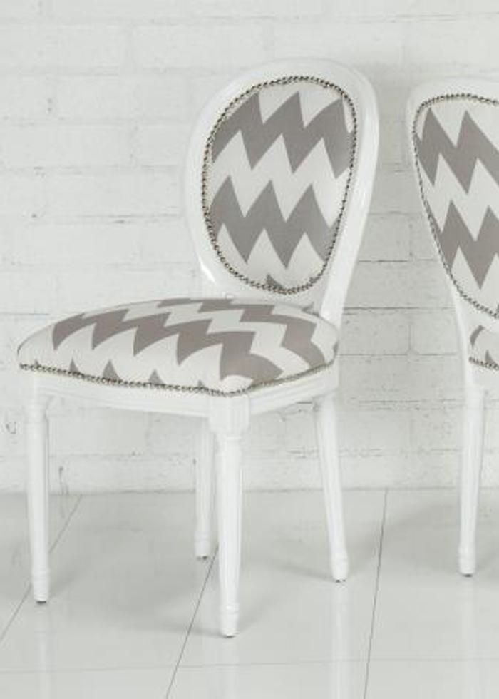 Chevron Print Louis Dining Chair Inspiration For Office Redo Have Similar