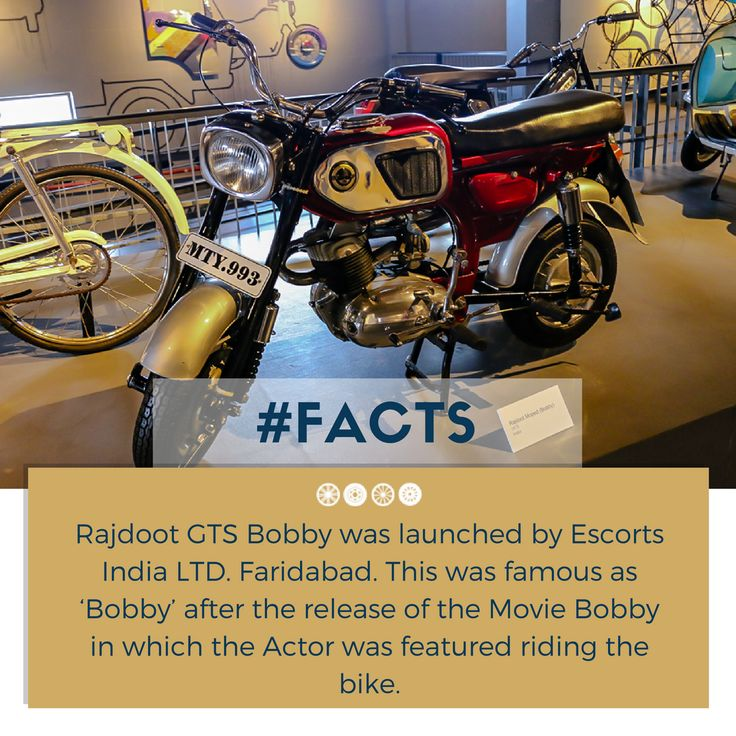 Here's a 1973 Rajdoot GTS Bobby!   #factfriday #vintagetransport #vintagecollection #facts #rajdoot #bobby #transportmuseum #heritagetransportmuseum