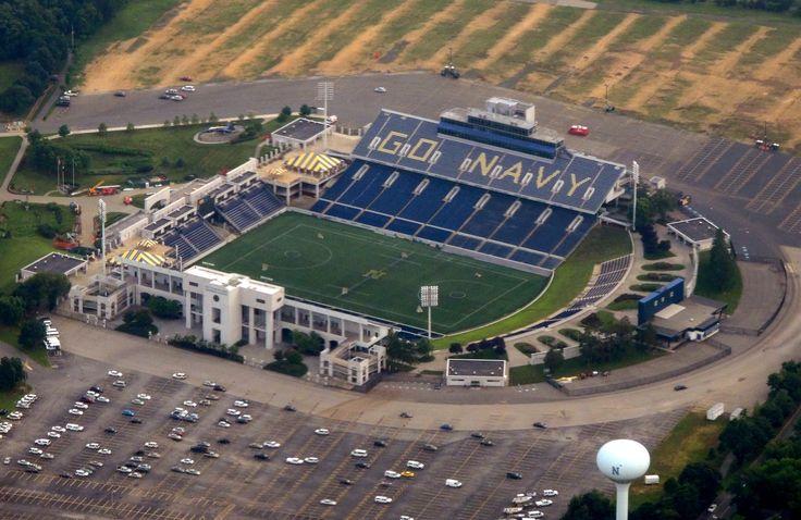 U.S. Naval Academy's Football Stadium in Annapolis, Maryland