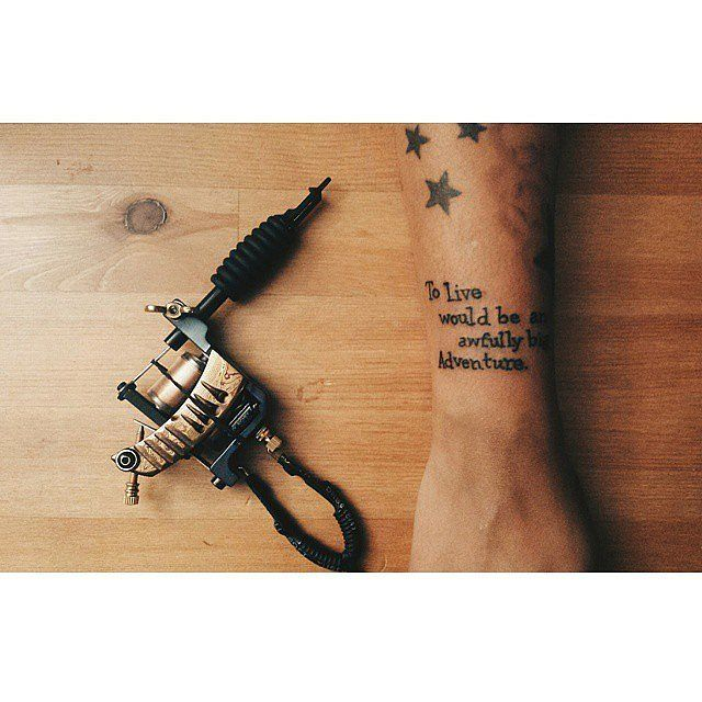 Tattoo Quotes Movies: Hook, Robin Williams, Movie, Tattoo, Quote