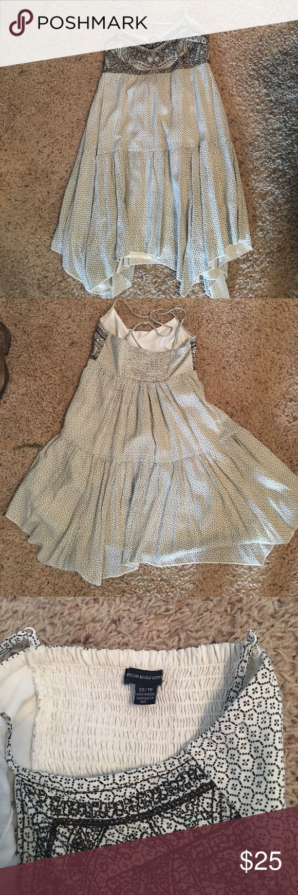 American eagle outfitters summer dress Never worn. I like it but it is to small for me. Very cute with cowboy boots. American Eagle Outfitters Dresses