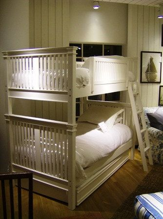 Solid Wood Bunk Bed by BorboletaDecors on Etsy