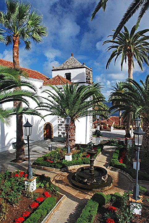 Plaza de San Andres, Isla de La Palma, Canarias. por el fotógrafo palmero Saúl Santos