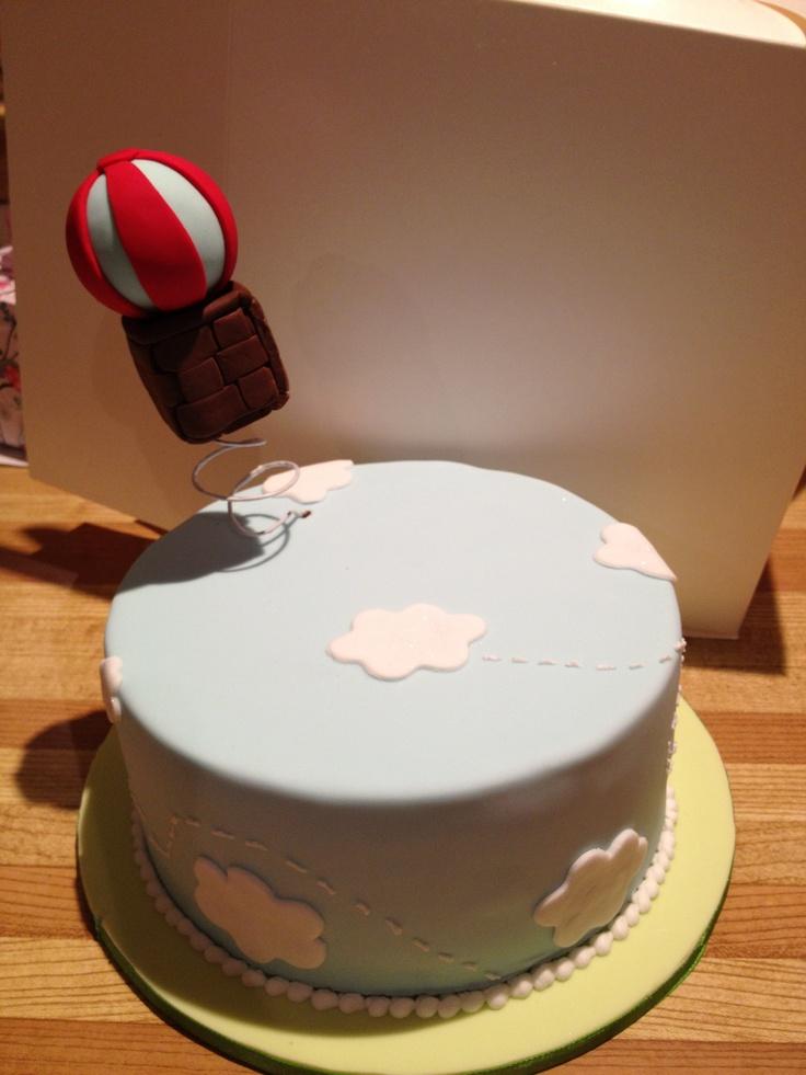 First actual cake class. Balloon cake