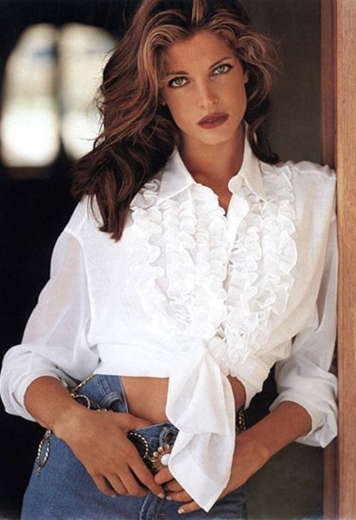 stephanie-seymour:  Stephanie SeymourTheresa König 1991Photographed by Peter Paech and Armin Burbach