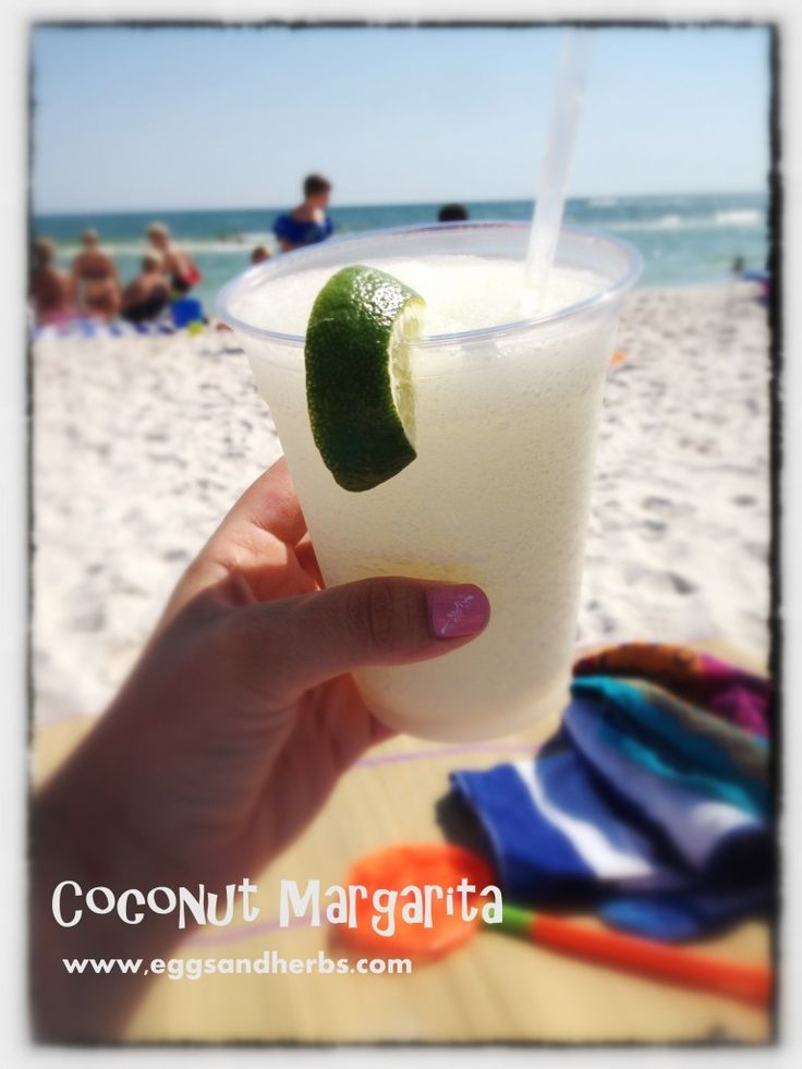 Tequila, Coconut Rum, Margarita Mix, Ice...Perfect for summer