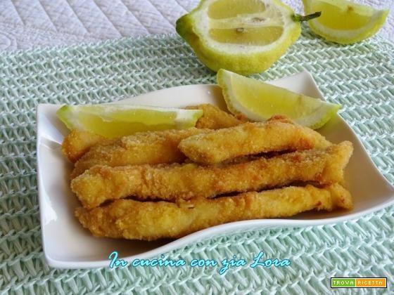Bastoncini di pollo fritti croccanti  #ricette #food #recipes