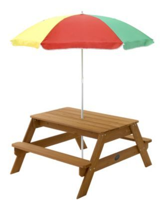Plum 174 Children 174 S Garden Picnic Table With Parasol
