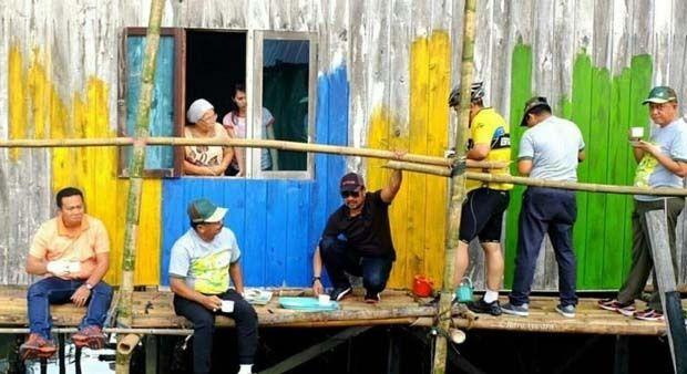 warna warni kampung wisata teluk seribu obyek wisata baru di balikpapan – info wisata terbaru
