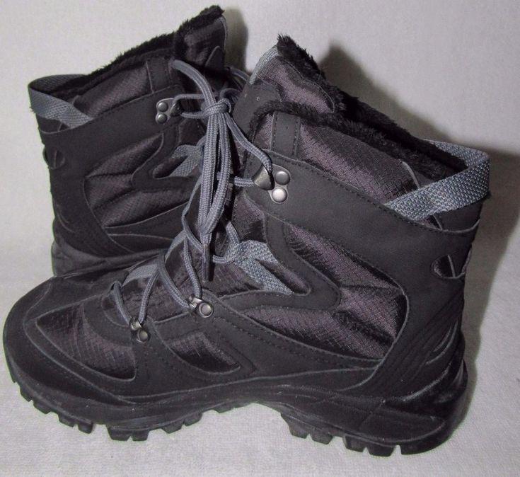 Merrell Snow Queen Black waterproof hiking winter insulated boots shoes size 8 M #Merrell #SnowWinterBoots