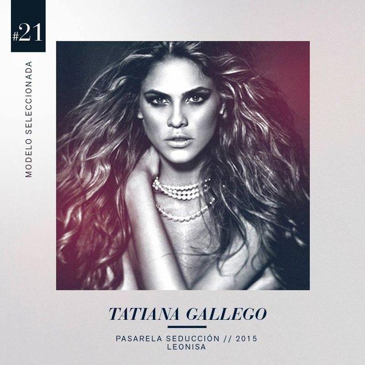 Figura imponente, carisma y un gran encanto hicieron que Tatiana Gallego fuera la seleccionada #21 en el grupo de 30 modelos que harán parte de la pasarela Seducción Leonisa 2015. #DesnudaTuAlma #Colombiamoda #LeonisaSpirit #MadeInHeavenProductions