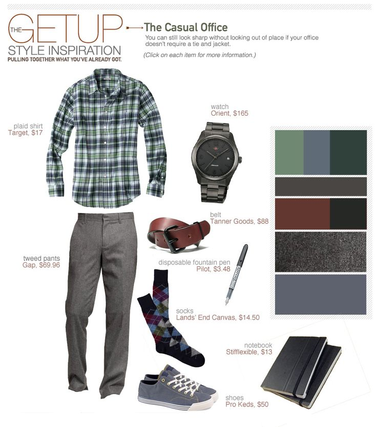 The Getup: The Casual Office - Primer
