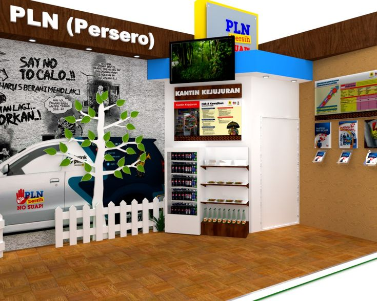 Desain Booth Stand Pameran Intergrity Expo 2014 – PT PLN (Persero)