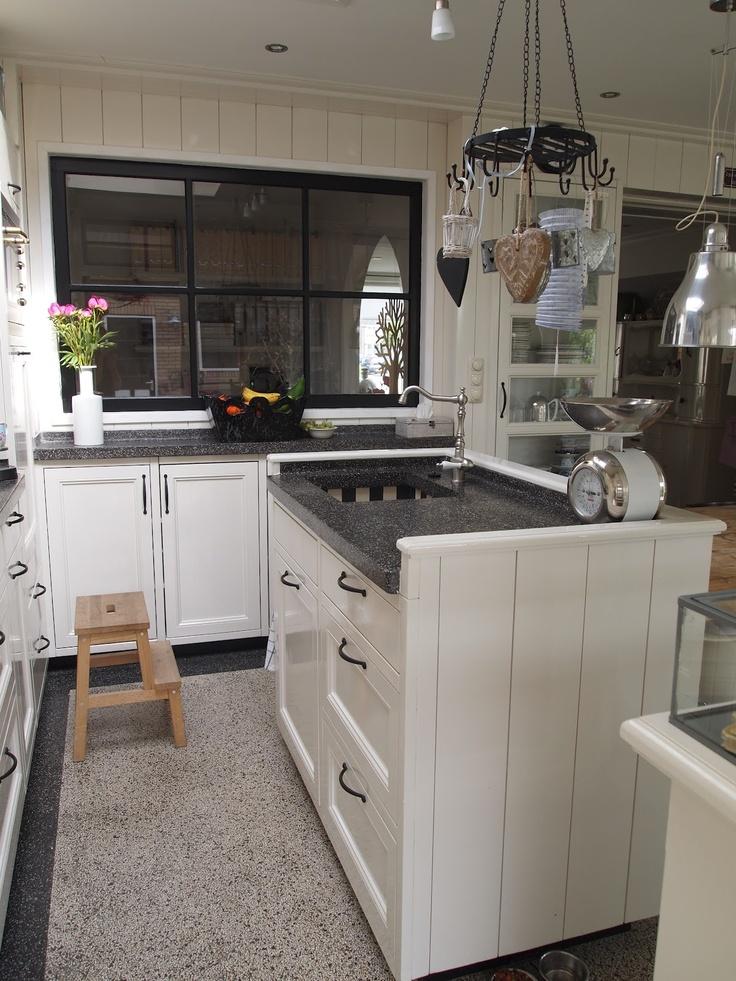 104 beste afbeeldingen over kitchen op pinterest kasten bar en eilanden - Redo keuken houten ...
