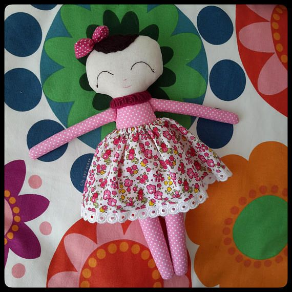 Check out this item in my Etsy shop https://www.etsy.com/listing/571065004/handmade-cloth-doll-handmade-fabric-doll