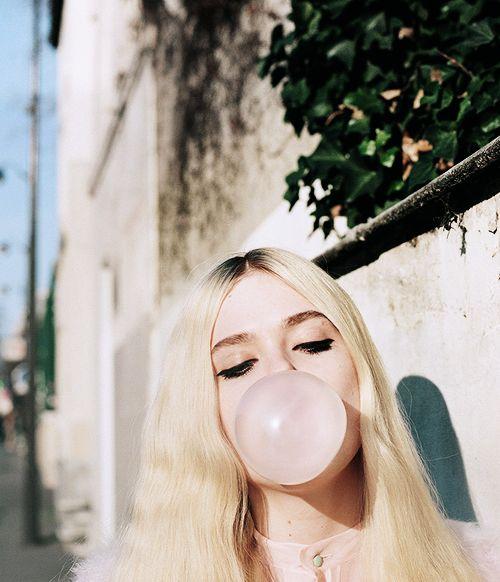 bubble gumming