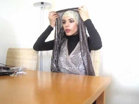 Hijab Tutorial/ Style with Earrings - http://videos.silverjewelry.be/earrings/hijab-tutorial-style-with-earrings/