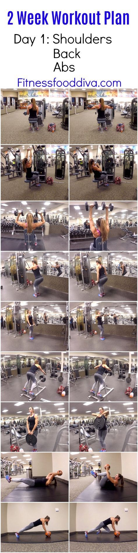 Shoulders, Back, and Abs Workout | Posted By: CustomWeightLossProgram.com