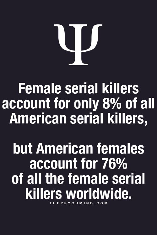 psychology of serial killers None of the stars of mindhunter really had much knowledge of serial killers  before signing on for the netflix series, which follows a pair of fbi.