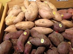 Explanation of  sweet potato varieties and types