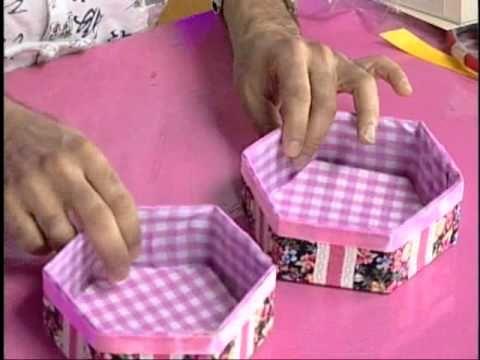 ▶ Caja hexagonal triple - YouTube