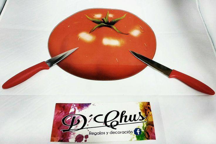 Tablas de Cortar del modelo Tomate. #dchusregalos #DCHUS #tablasdecortartomate