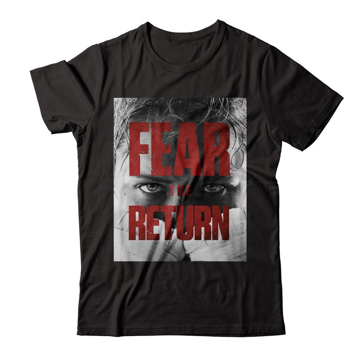 "Ronda Rousey ""Fear the Return"" Tee Fear the Return! Ronda Rousey is back & ready to reclaim her title.  A portion of this campaign's proceeds will go to Noah's Animal House, a safe haven for pets of women & children fleeing abusive homes."