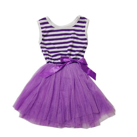 Lavendar tutu with bow. Soft tulle to keep delicate legs happy.