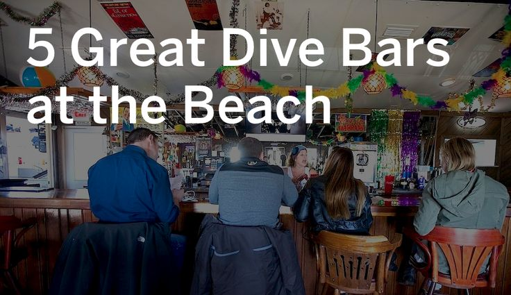 If you're looking for that epic spring break pub crawl, then put these five places on your list at the beach.
