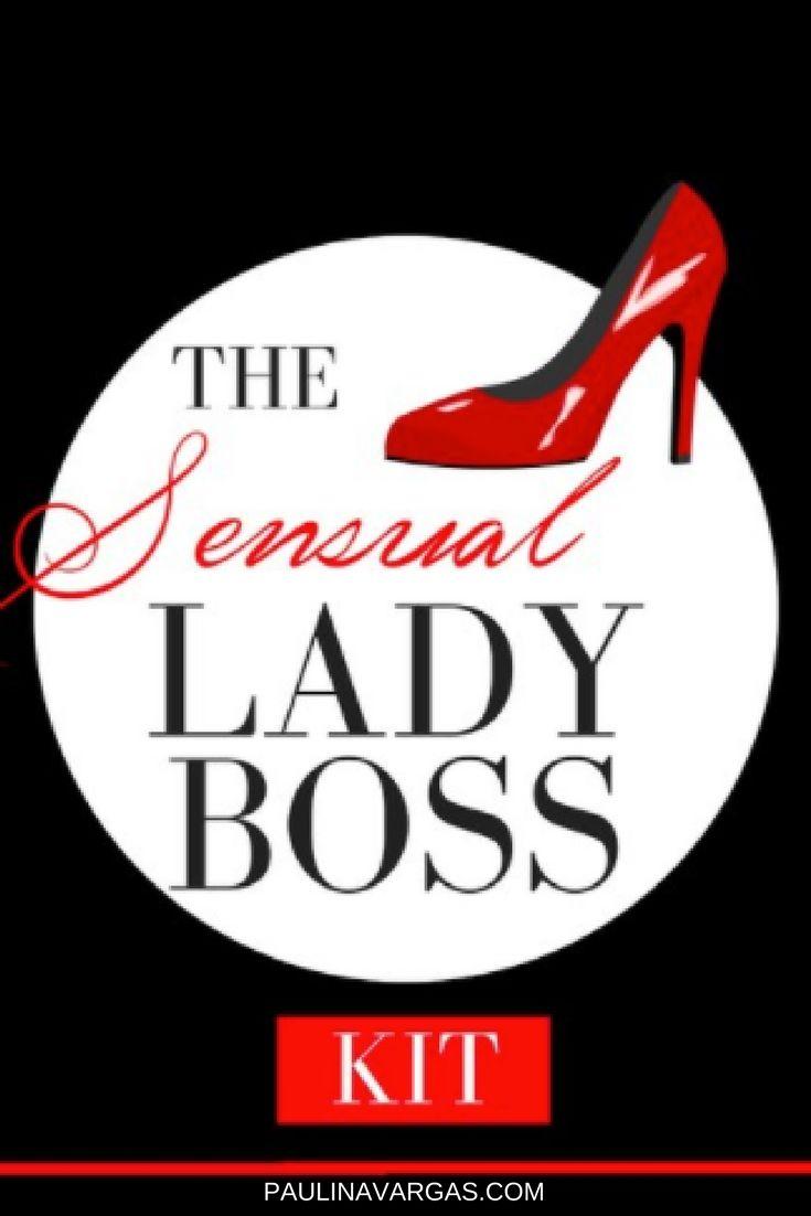 Sensual Lady Boss Kit | Inspiration For Women Entrepreneurs | Motivation  For Lady Bosses | Free