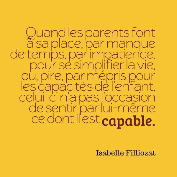 La confiance en soi en construction dans l'enfance selon Isabelle Filliozat