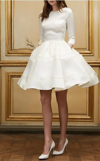 Delphine Manivet Bridal Spring Summer 2016 Look 14 on Moda Operandi