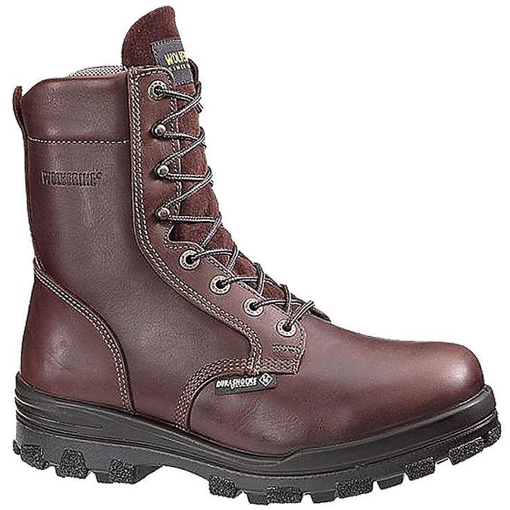 Wolverine DuraShocks Insulated Waterproof Steel Toe Hiking/Work Boots for Men   Bass Pro Shops