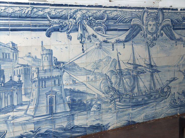 Universidade de Évora | sala / room n.º 120 | séc. XVIII / 18th century [© projecto / project IAPC] #Azulejo #AzulejoDoMês #AzulejoOfTheMonth #Évora