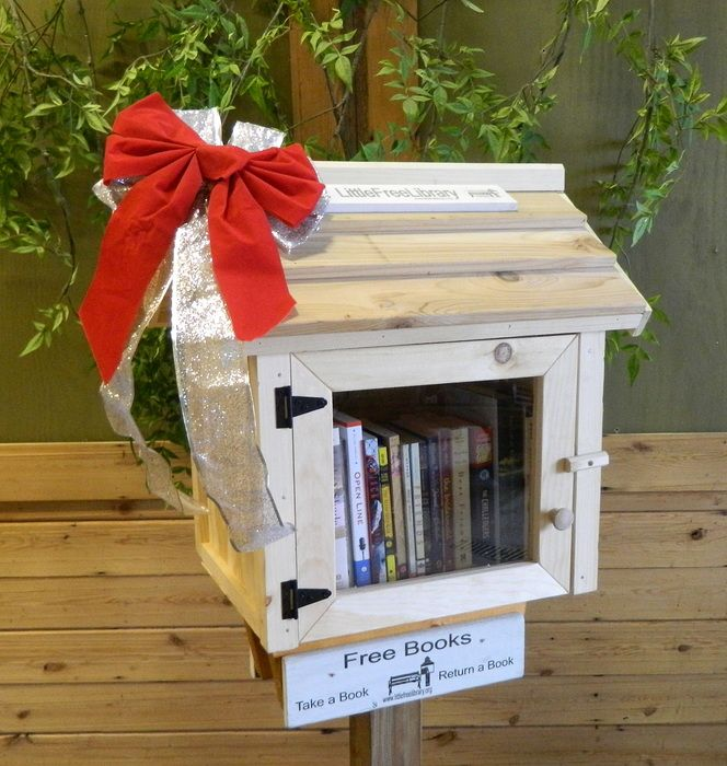 $500 Pledge - Amish Built Little Free Library