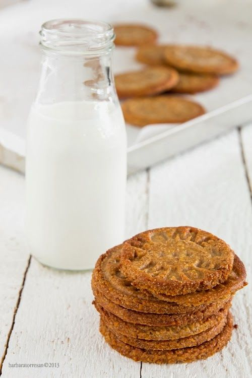 Biscotti croccanti e un blog con ricette grandiose. Chez Babs
