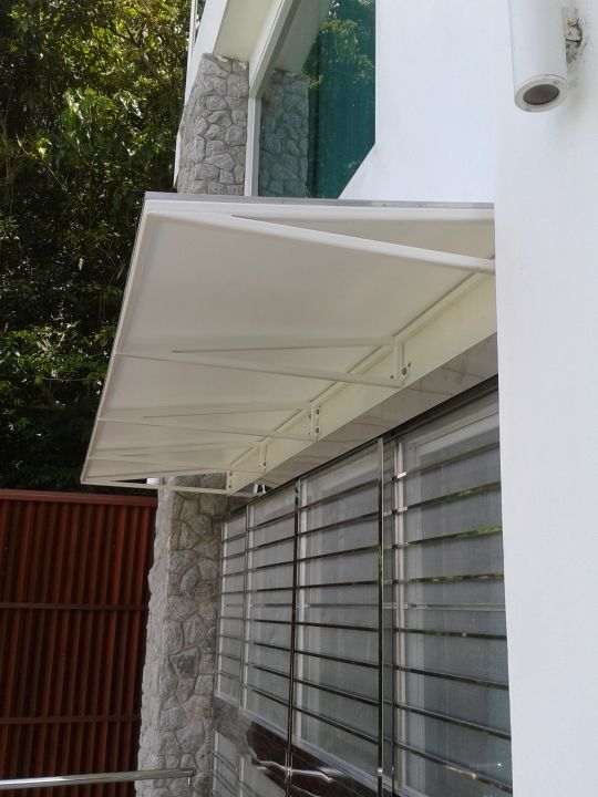 Award of Excellence  Residential Awnings & Canopies < 112 square meters (1205 square feet)  Minimalist Residential Awnings  Shades (Thailand) Co., Ltd