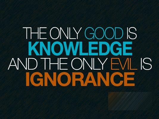 ignorance is bliss and a little knowledge is dangerous Find the best dangerous ignorance quotes and sayings on picturequotescom ignorance is indeed bliss they say a little knowledge is a dangerous thing.