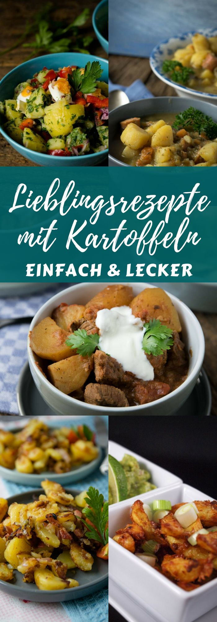 Super leckere Rezepte zum Kochen & Backen mit Kartoffeln