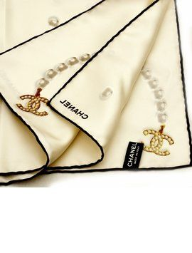 Brand new CHANEL Bead Silk scarf. Get the lowest price on Brand new CHANEL Bead Silk scarf and other fabulous designer clothing and accessories! Shop Tradesy now