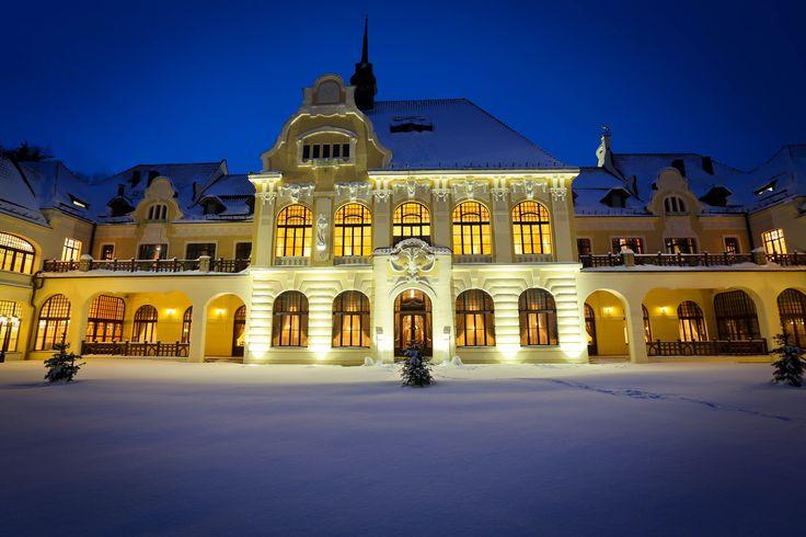 Hotel Rübezahl Marienbad, built in 1903 in the spa town of Marianske Lazne