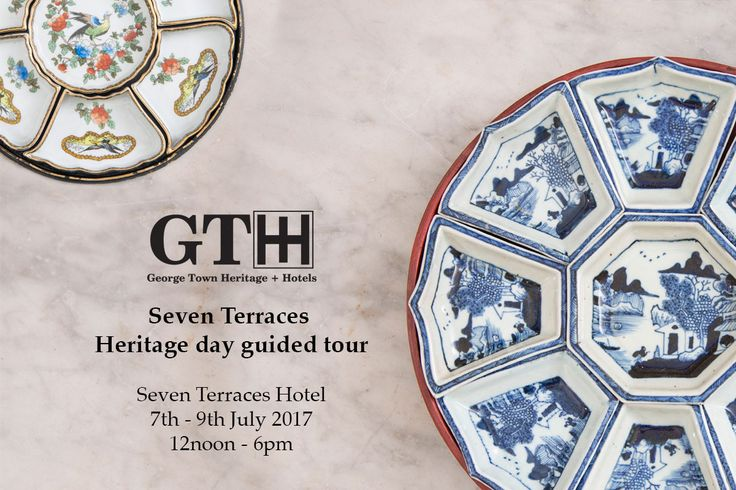 """In celebration of GTHH's 2nd anniversary and Penang Heritage Day, an exhibition of """"chien hup"""" 攒盒will be on showcase. Chien hup is a tray of traditional sweets. There will be a special guided tour at Seven Terraces hotel at 1pm, 2pm and 3pm. Entrance is complimentary. #gthh #georgetown #georgetownhotels #georgetownheritage #penang #heritage #seventerraces #penangheritage"""