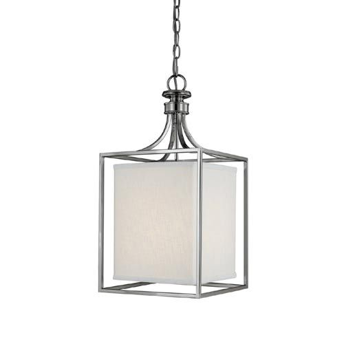 Capital Lighting Fixture Company Midtown Polished Nickel Two Light Lantern  Pendant