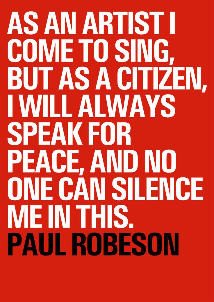 Tony Greenstein Blog: 17 Best Images About Paul Robeson Quotes On Pinterest