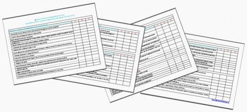 Tableau d'aide aux progressions de cycle 1- Nouveaux programmes 2015
