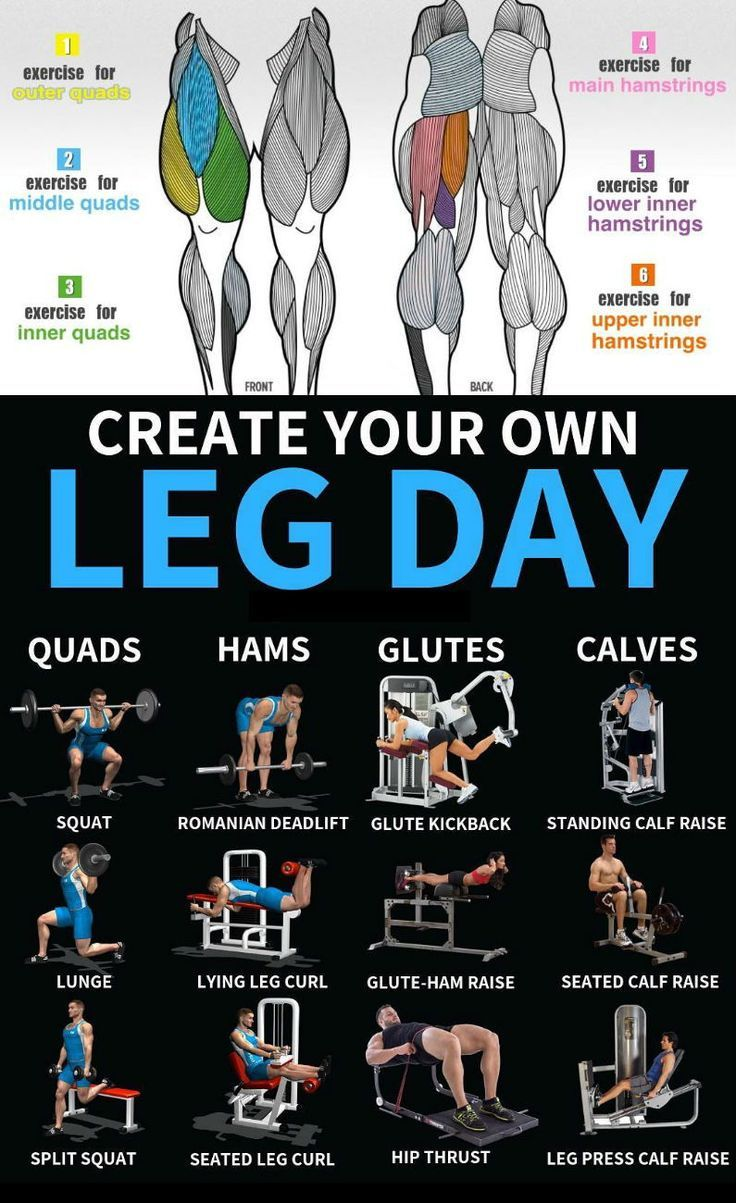 """""""Leg day""""—the very phrase conjures up images of nausea, days of hobbling, and …"""