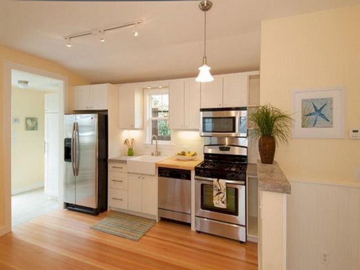 9 best Small Kitchens images on Pinterest Basements Before