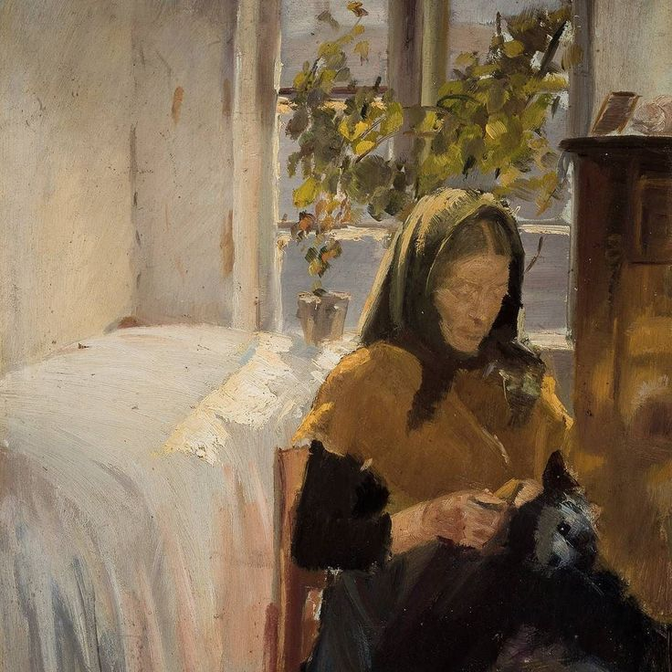 A lovely weekend to everyone. Work by Anna Ancher ca. 1885 #annaancher