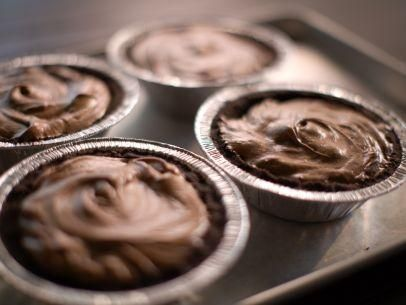 """Double Chocolate Silk Pie (Deli Deliberation: Winner) - """"The Pioneer Woman"""", Ree Drummond on the Food Network."""